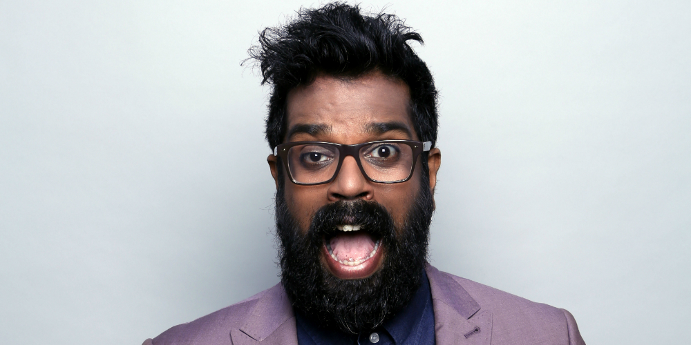Leicester comedy festival Romesh Ranganathan