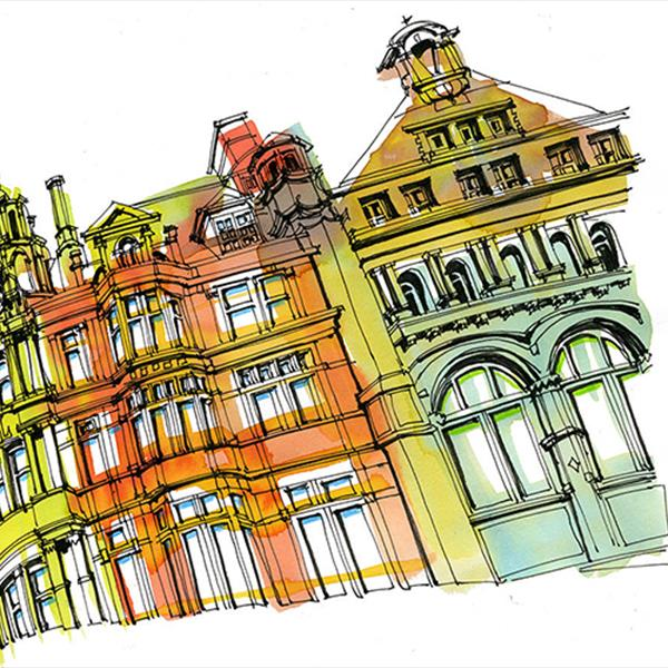 Sketches of Leicester