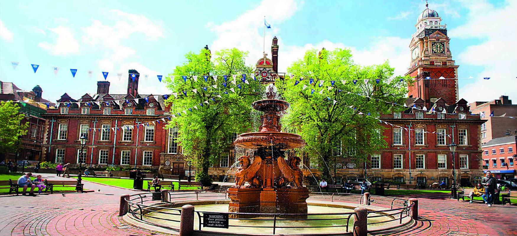 Town Hall Square, Leicester