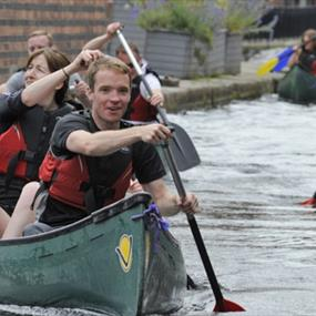 Canal & River Trust - Canoe Team Day