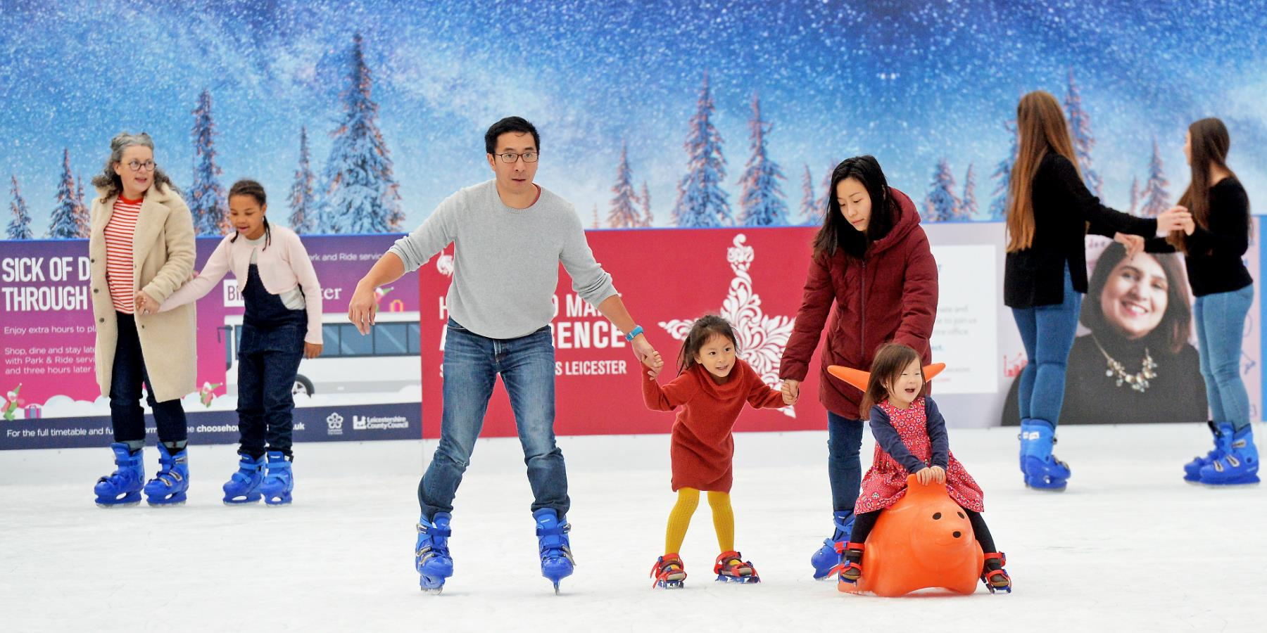 Jubilee Square Ice Rink - Visit Leicester