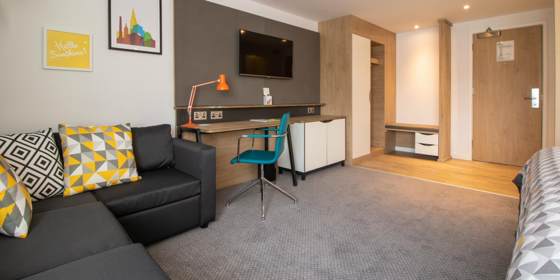 Holiday Inn Leicester - Wigston - Interior of room