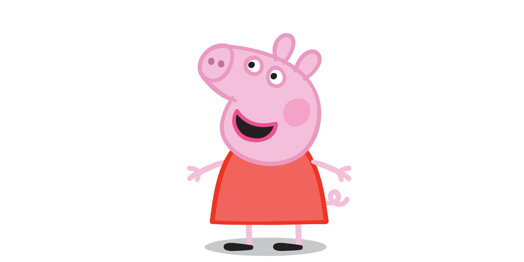 Peppa Pig And George Visit Leicester