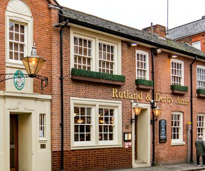 The Rutland & Derby Arms, Pubs - Eating and Drinking in Leicester