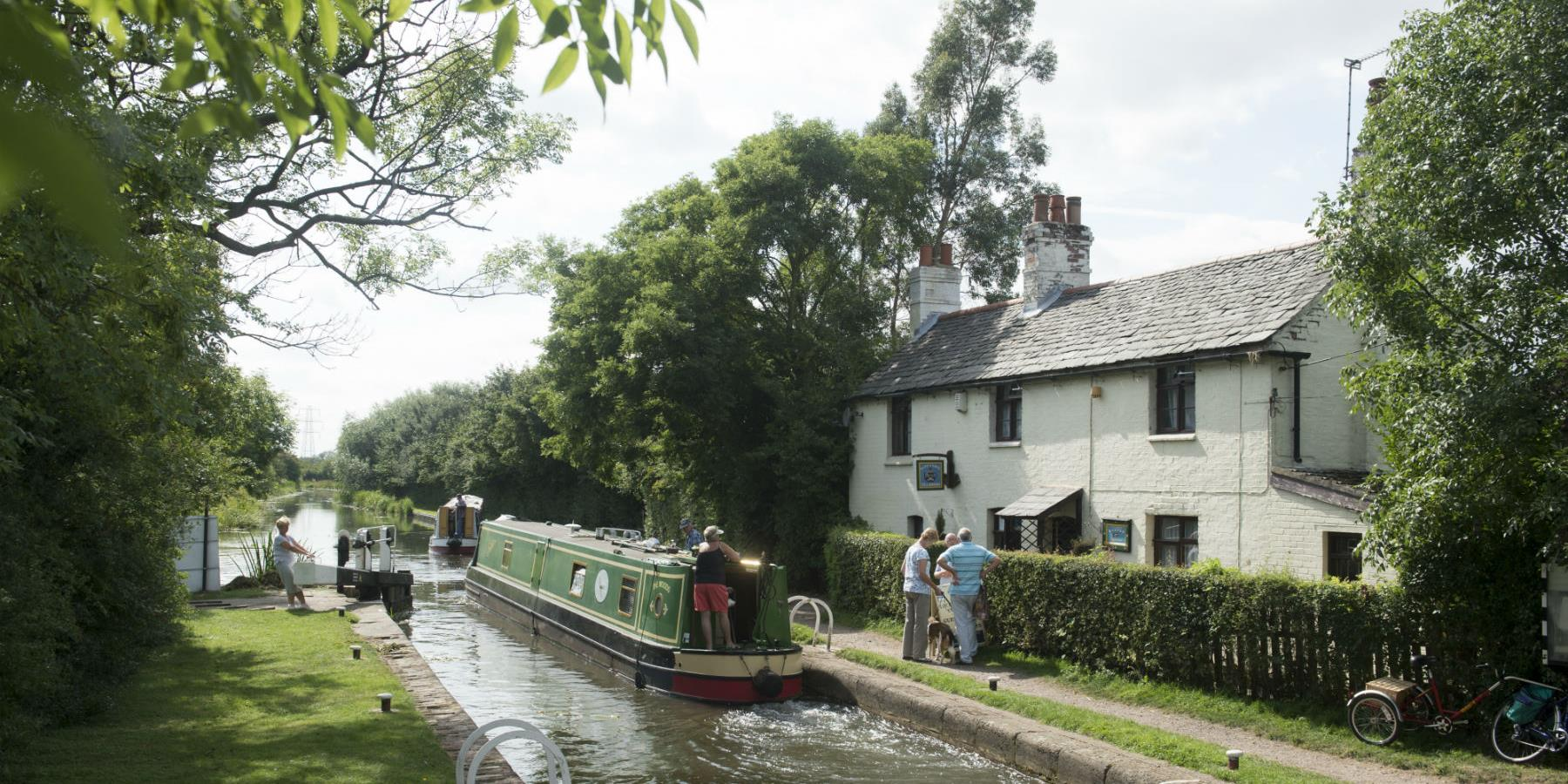 Image result for King's Mill Lock tea rooms Leicester
