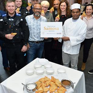 A whole week dedicated to the tastiest triangular treat - National Samosa week this April in Leicester!