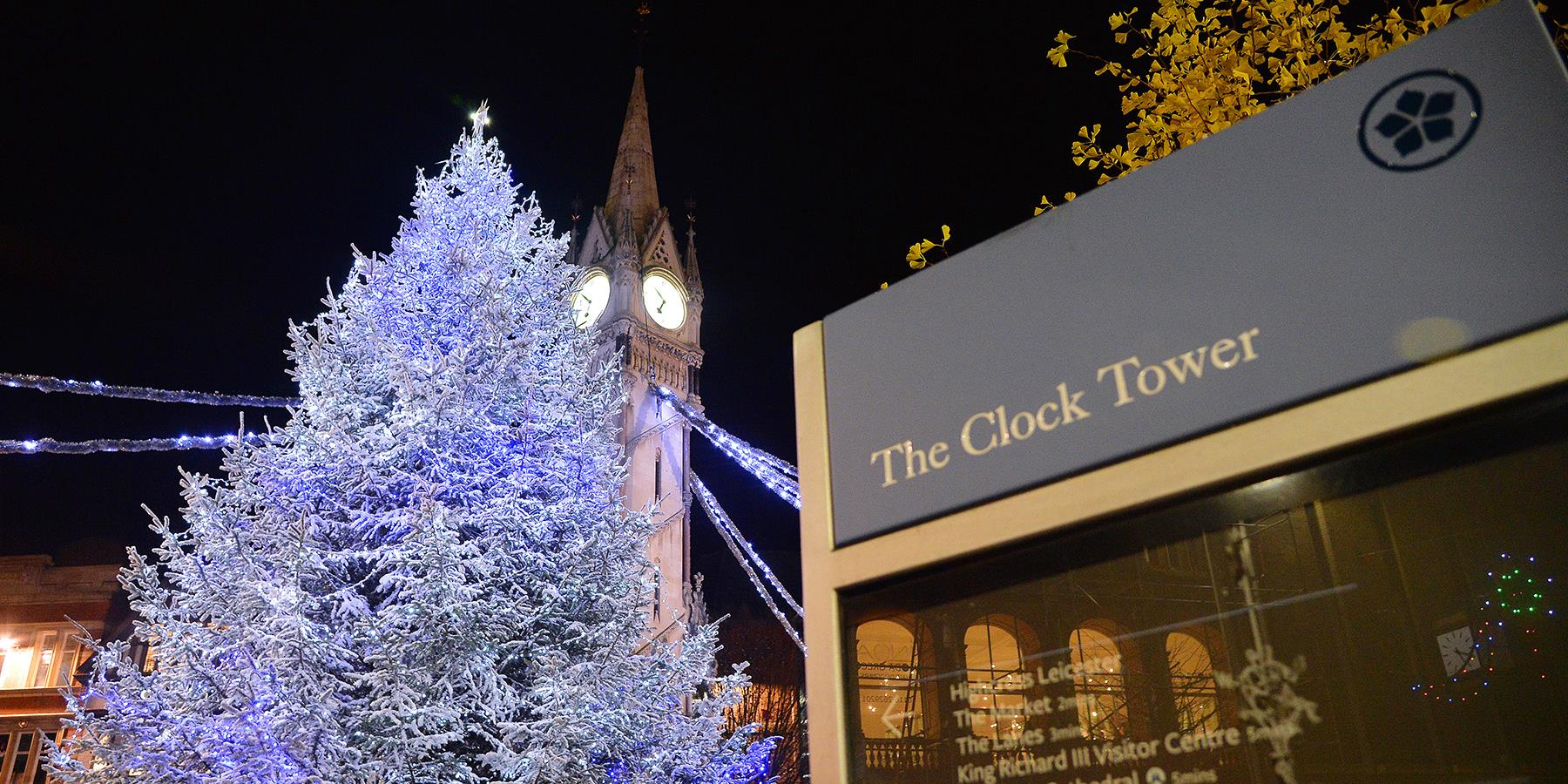 Follow the Festive Trail around Leicester to experience a magical Christmas in the City!