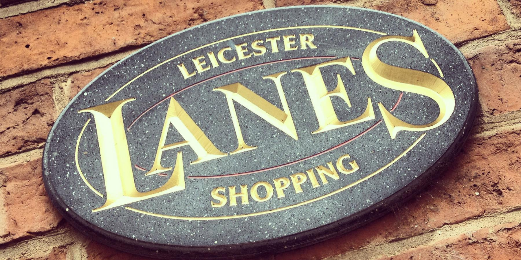 The Lanes - shopping in Leicester