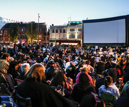 City Festival - Outdoor Cinema, Festivals, See & Do in Leicester