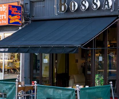 Bossa Cafe Bar, - Eating and Drinking in Leicester