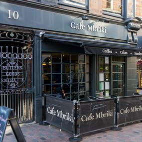 Cafe Mbriki, Cafes - Eating and Drinking in Leicester
