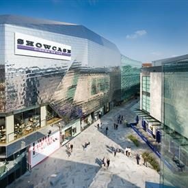 Showcase Cinema de Lux  as seen from St Peter's Sqaure in Highcross Leicester