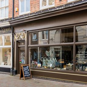 Cocoa Amore, Shopping in Leicester