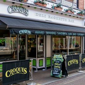 Croques, Cafe - Eating and drinking in Leicester