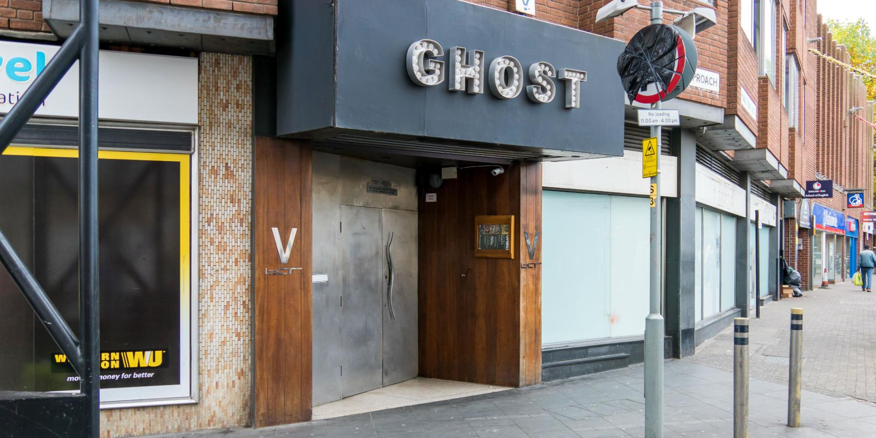 Ghost, Nightclub - Entertainment in Leicester