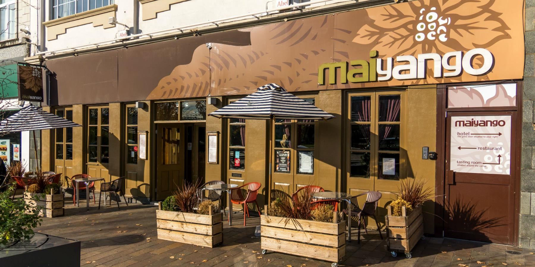 Maiyango Restaurant and Hotel - Eating and Drinking in Leicester, Hotels in Leicester
