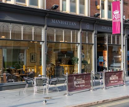 Manhattan 34, Bars - Eating and Drinking in Leicester