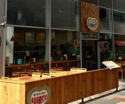 Mission Burrito, Highcross, Restaurants in Leicester