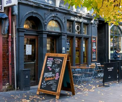 The Orange Tree, Pubs - Eating and Drinking in Leicester