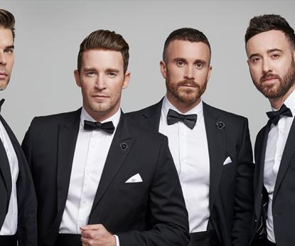 The Overtones Christmas Party