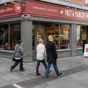 Pret a Manger, Cafe - Eating and Drinking in Leicester