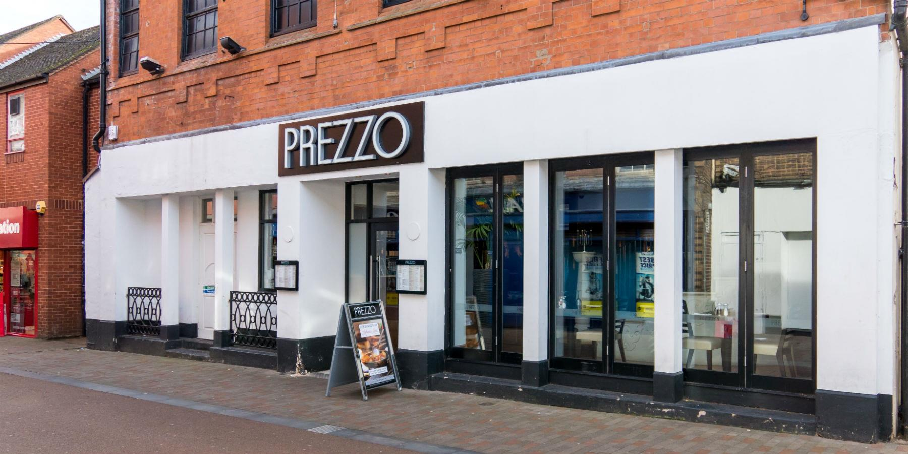 Prezzo, Restaurants - Eating and Drinking in Leicester