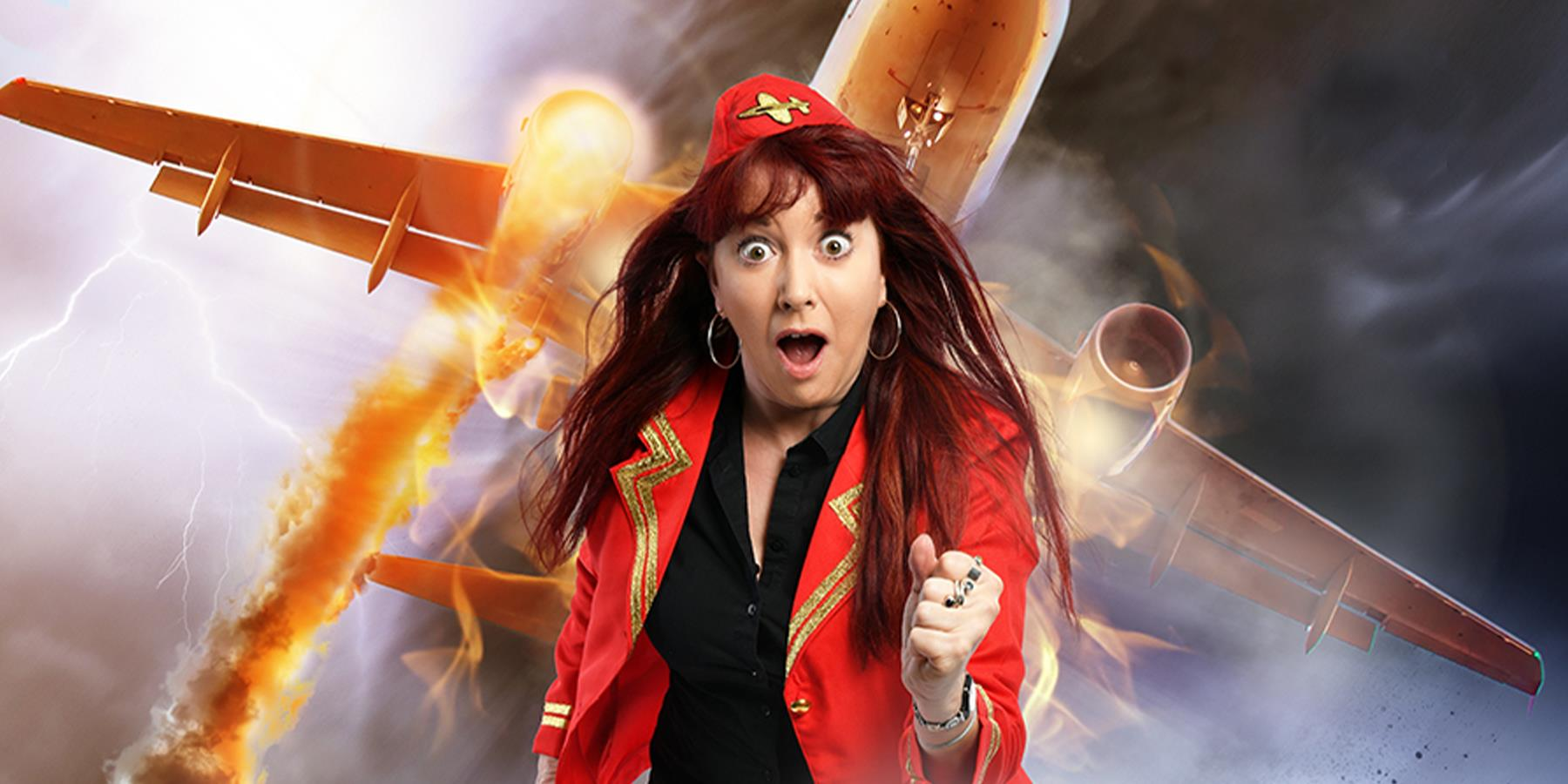 Leicester Comedy Festival: Susan Murray: How Not to Die in a Plane Crash