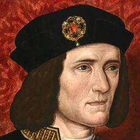 Richard III Portrait from the National Portrait Gallery