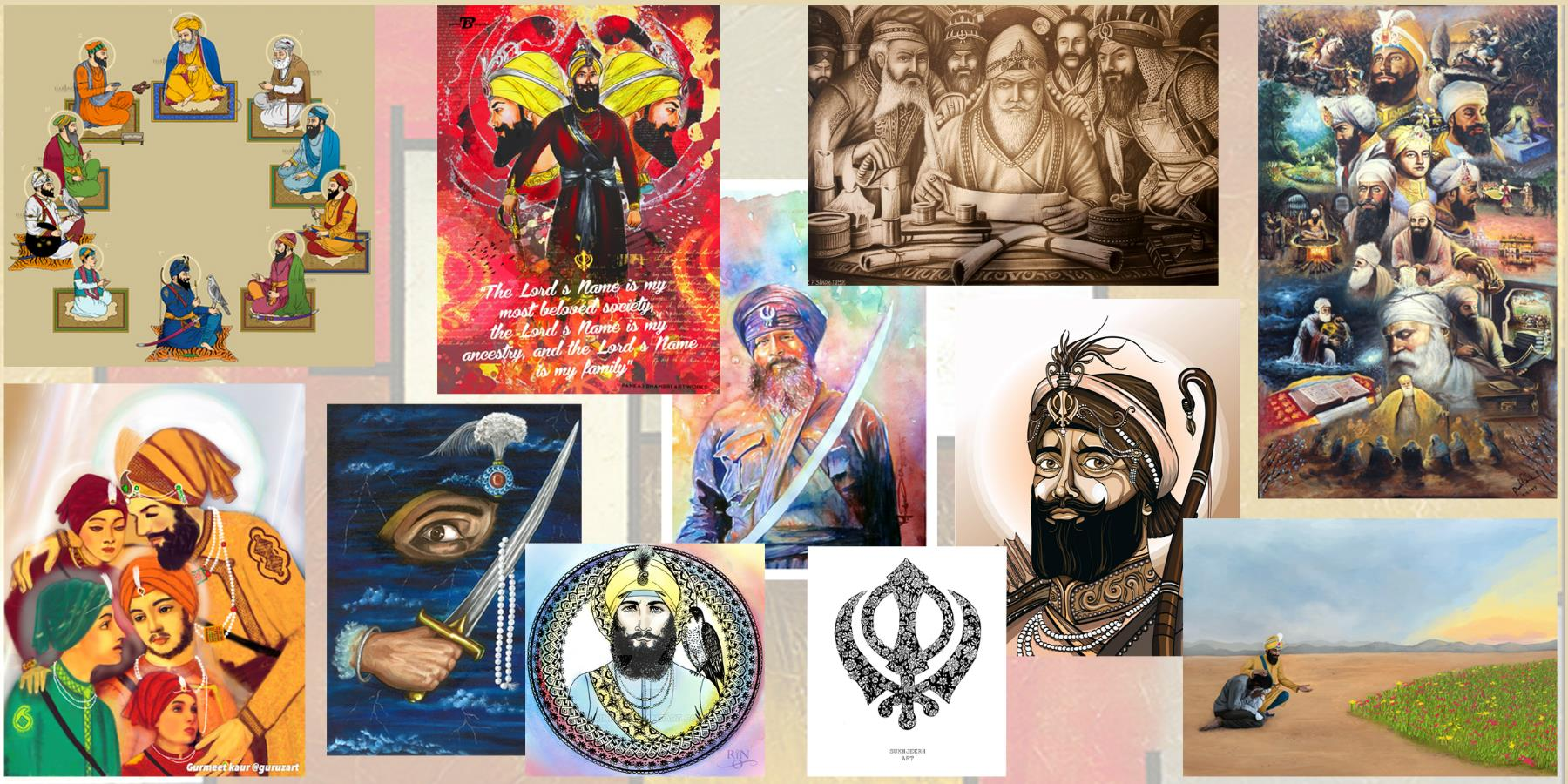 Contemporary Sikh Art Exhibition 2018