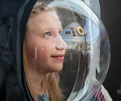 One Giant Leap - Summer Holiday Activities at the National Space Centre