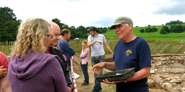 archaeology open day Bradgate