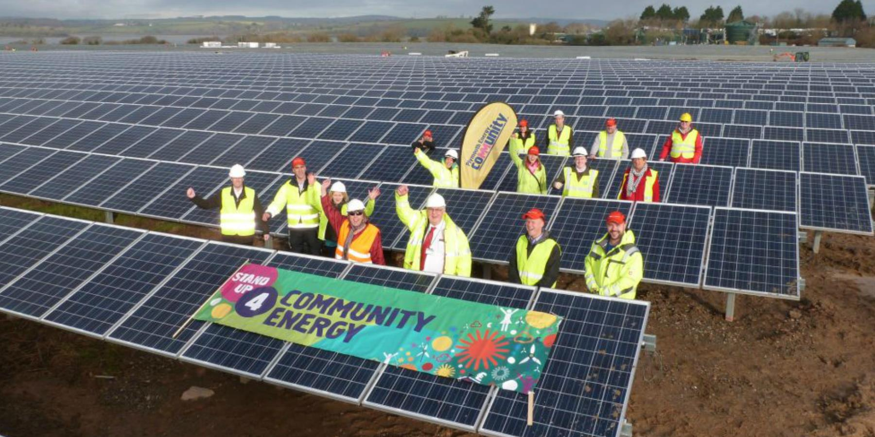 Community Energy: Putting people at the heart of the energy transition