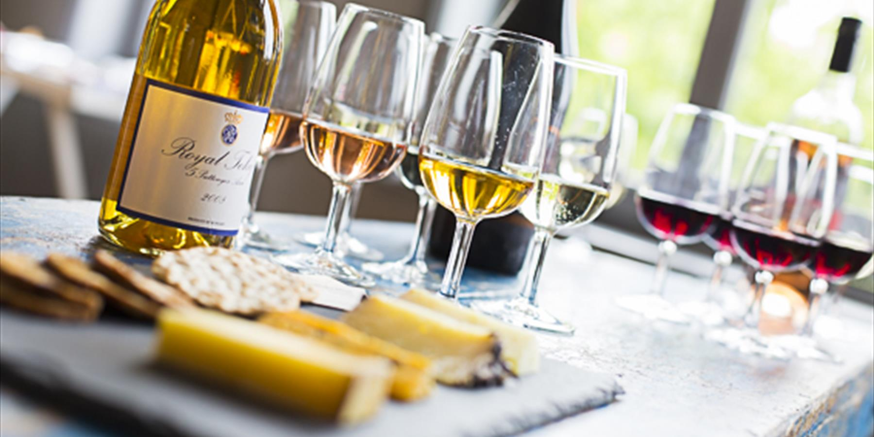 Winter Warmer - Wine & Cheese Tasting