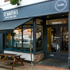St Martins Coffee, cafe - Restaurants in Leicester