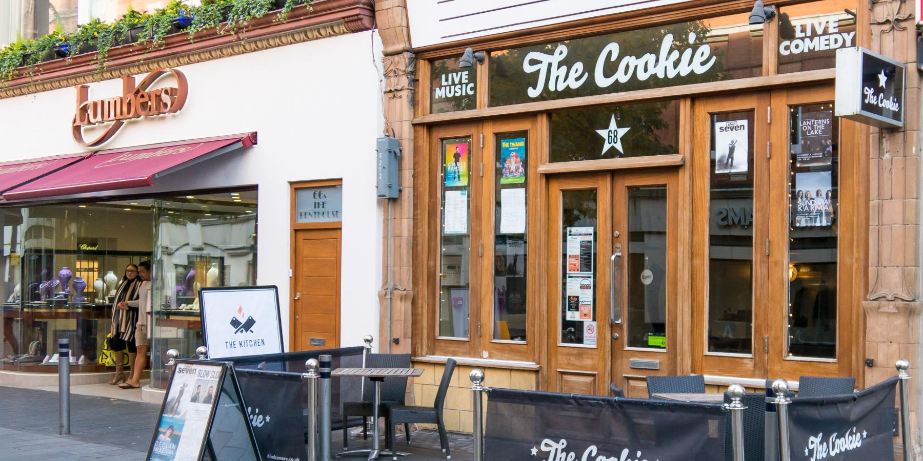 The Cookie, Bar, Restaurant and Venue - Eating and Drinking in Leicester