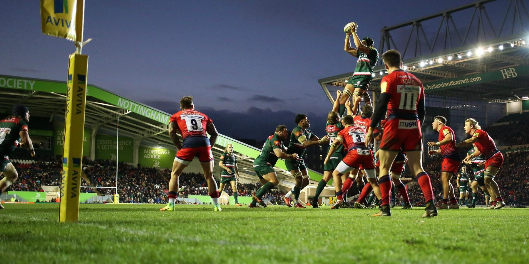 Leicester Tigers vs London Irish
