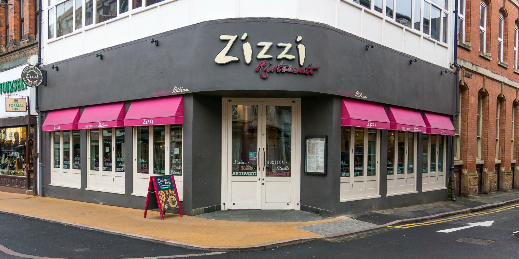 Zizzi, Restaurants - Eating and Drinking in Leicester