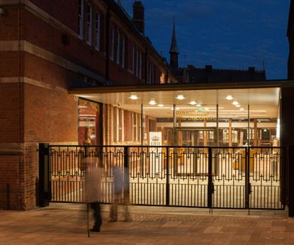 Exterior of King Richard III Visitor Centre, See & Do in Leicester