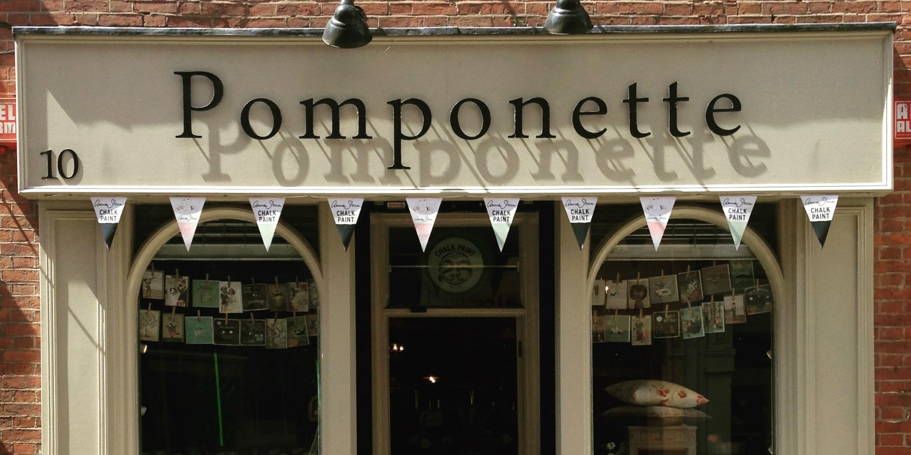 Pomponette - The Lanes, Shopping in Leicester