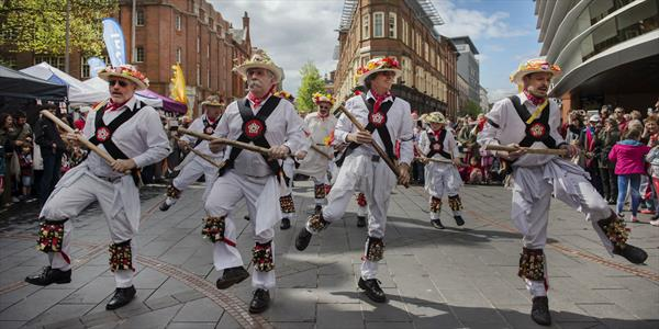 St George's festival, What's on in Leicester